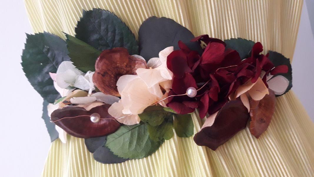 Cinturón Flores Preservadas Alejandra