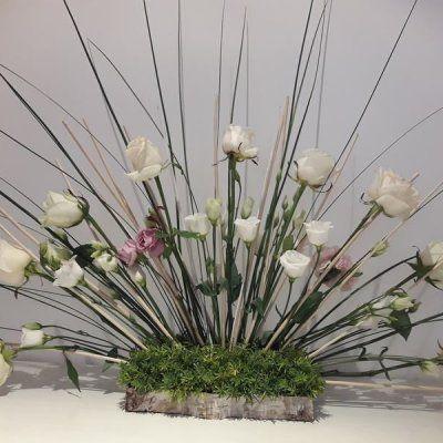 Arreglo Floral Abanico