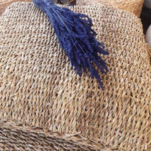 cojin de suelo fibra natural 60x60
