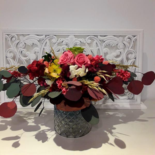 Centro Flores Preservadas Eternas Otoño