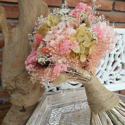 Ramo de novia Silvestre preservado