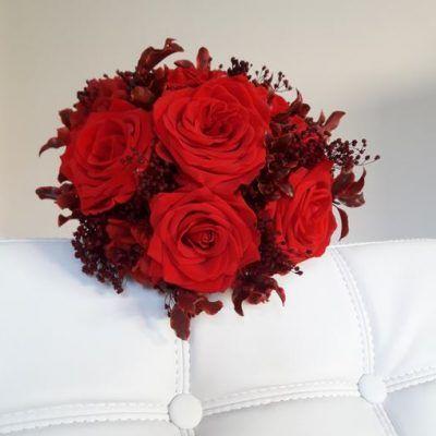Ramo de Rosas Rojas Preservadas