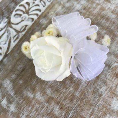 Pinza de Pelo flores preservadas
