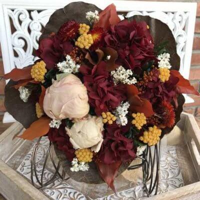 Ramo flores preservadas Flores de Otoño