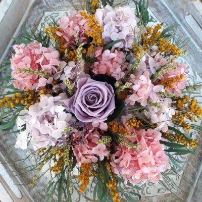 Composicion floral Flores Preservadas