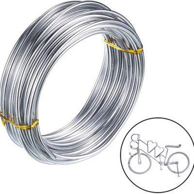 Alambre de Aluminio Color Plata
